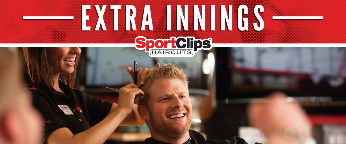 The Sport Clips Haircuts of Lexington - Chinoe Center Extra Innings Offerings